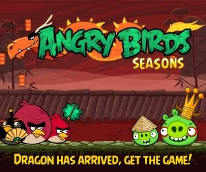 Обновление Angry Birds Seasons на Android и Apple