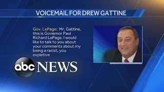 Maine Gov. Paul LePage Leaves Expletive-Filled Voicemail - ABCNEWS