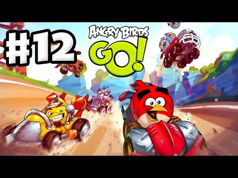 Angry Birds Go! Gameplay Walkthrough Part 12 - Wipeout! Rocky Road (iOS, Android)