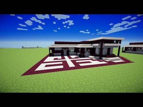 TUTO Maison moderne/ Minecraft