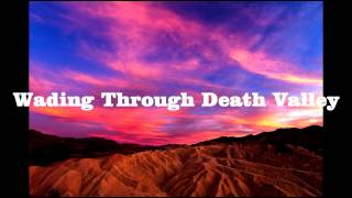 Royalty Free :Wading through Death Valley
