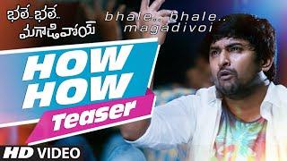How How Video Teaser    Bhale Bhale Magadivoi    Nani, Lavanya Tripathi - LAHARIMUSIC