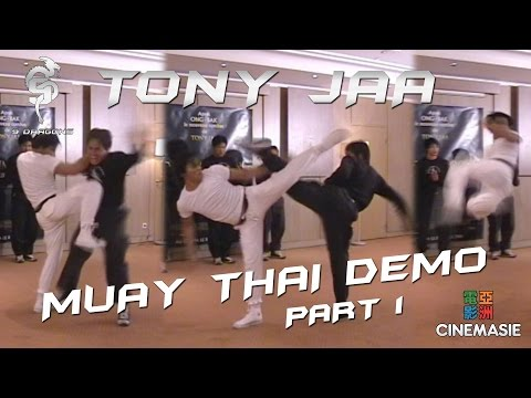 Tony Jaa Muay Thai Demo - Paris 2005