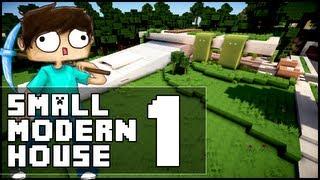 Minecraft - Small Modern House 1