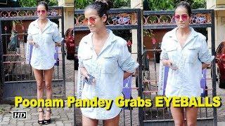 Poonam Pandey Grabs EYEBALLS in Blue Denim - IANSLIVE