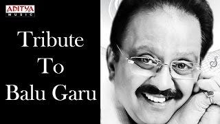 Tribute to Legend Singer S.P. Balu Garu For Completing 50 Golden Years in his Singing Career ♫♫ - ADITYAMUSIC