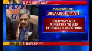 BJP carves out new strategy to counter AAP - NEWSXLIVE