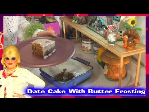 Date Cake With Butter Frosting : Trailer Park Cooking Show