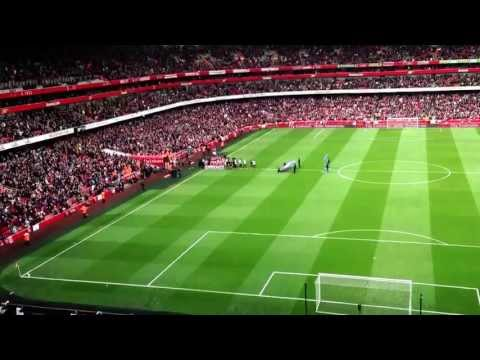 Man United v Arsenal guard of honour