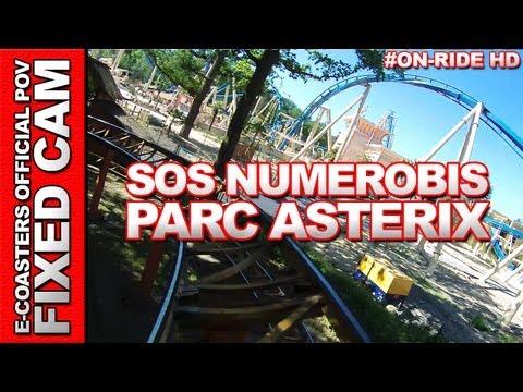 SOS Numerobis - OnRide - Parc Asterix (ECAM HD)
