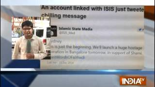 After Sydney siege ISIS threatens Bangalore Police on twitter - INDIATV