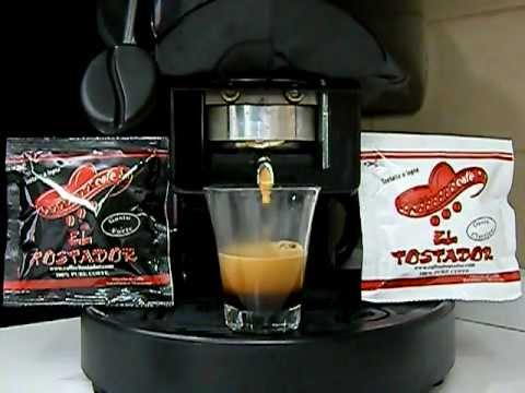 Didiesse Frog Dimostrazione Erogazione Cialde espresso Caffe El Tostador