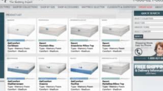 buy jamison bedding caribbean mattress memory foam jgel bed gelcomfort collection youtube - Jamison Mattress
