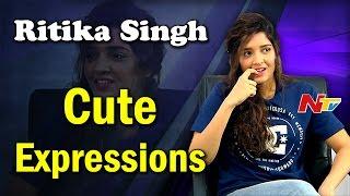 Ritika Singh Cute Expressions in Interview || Guru || Shivalinga || NTV - NTVTELUGUHD