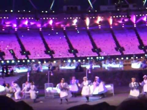 #SaveTheSurprise 2012 Olympic Opening Ceremony Rehearsal 25th July #5