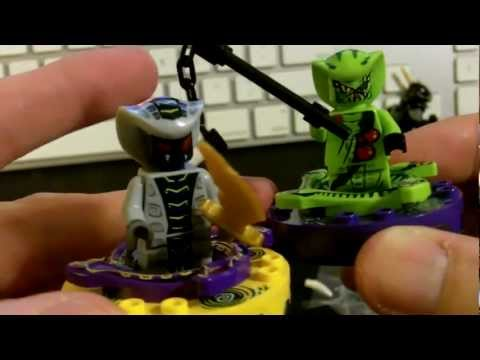 Lego Ninjago 9562 Lasha 2012 Unboxing and Review
