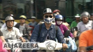 Hanoi plan to ban motorbikes by 2013 to combat congestion - ALJAZEERAENGLISH