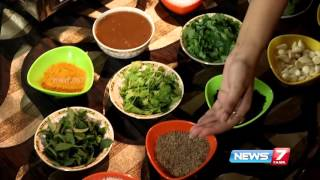 Unave Amirtham 08-02-2016 'Karuveppilai Kanji' helps to secrete insulin in our body – NEWS 7 TAMIL Show