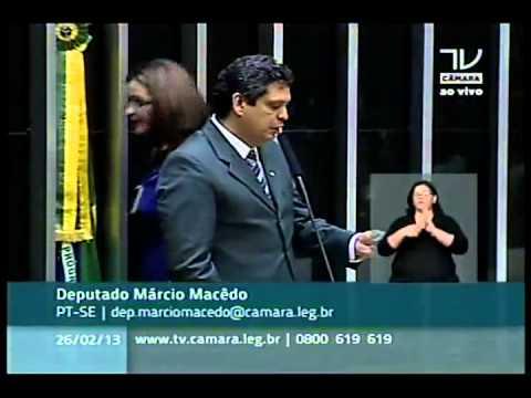 Alfabetização na Idade Certa. Deputado Márcio Macedo (PT - SE)