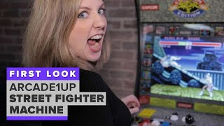 Arcade1Up Street Fighter build-it-yourself machine first look - CNETTV