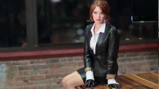 Leather Skirts On Tv - Dress Ala