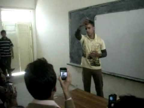 PARODY OF SIR ASGHAR AT SIR SYED COLLEGE 2012