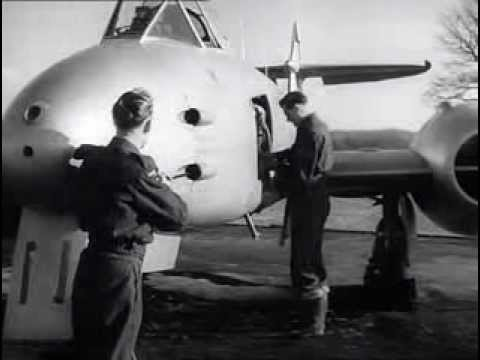 'Wings of Defence' (1950). Film focusing on the Royal Auxiliary Air Force (RAAF) - روايات تيوب -YouTube DownLoader