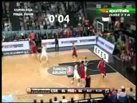 8 second violation CSKA - PAO