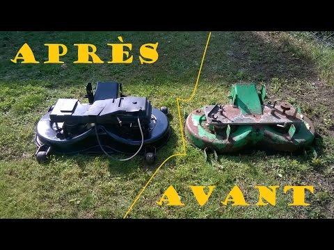 Related video - Plateau de coupe tracteur tondeuse john deere ...