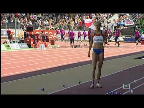 Darya Klishina 7 05 Long Jump  Women Final European Athletics U23 Championships Ostrava 2011