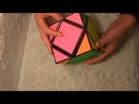 Tony Fisher solves his (my) Giant Skewb puzzle