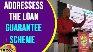 Manish Sisodia Addressess the Loan Guarantee Scheme web portal Launch Ceremony | Mango News - MANGONEWS