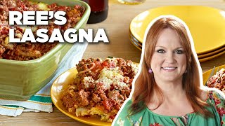 Ree's Hearty Cowboy Friendly Lasagna | Food Network - FOODNETWORKTV