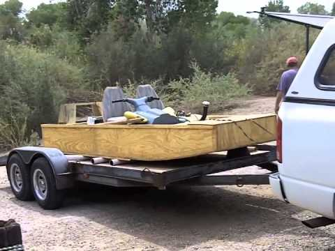 Building a wooden jet jon boat Part 5