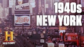 Flashback: A Tour of 1940's New York City | History - HISTORYCHANNEL