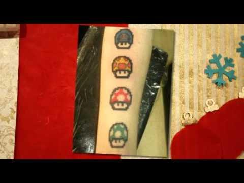 Zauberpilz Tattoo Vorlagen
