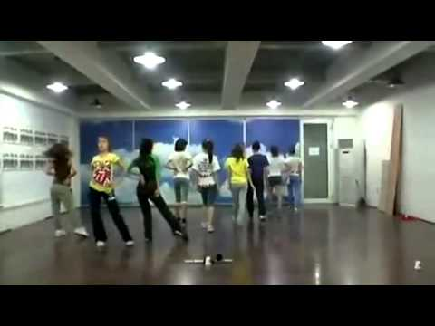 SNSD Practice Room   Tell me your wish Genie Demo ver