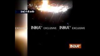 Amritsar train accident: 60 dead, 50 hurt as train runs over people watching Ravan-burning - INDIATV