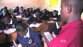E-readers Help Ease Africa's Book Shortage - VOAVIDEO