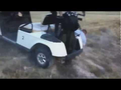 Accidentes en carros de golf (crazy golf cart)