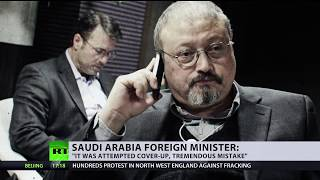 'These things unfortunately happen': Saudi FM on Khashoggi death - RUSSIATODAY