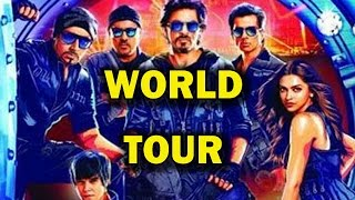 Happy New Year's world Tour - Cast at the airport! | Bollywood News