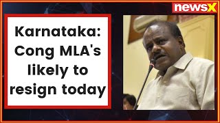 Karnataka political crisis: Congress tells MLAs to 'come back', lures them with ministerial posts - NEWSXLIVE