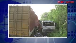 video : जयपुर हाइवे पर हादसा, एक की मौत, एक घायल
