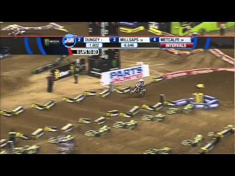 AMA Supercross 2011 RD6 Houston 450 Main Event 2/2