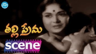 Thalli Prema Movie Scenes - Lalitha Fires On Savitri || NTR, Savitri - IDREAMMOVIES
