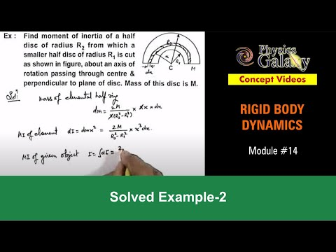 Solved Example on Rotational Motion (ROT11X2)