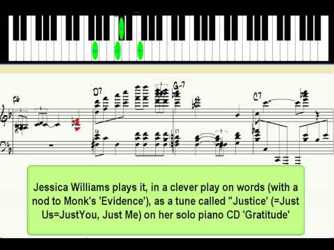 'Just You, Just Me' - jazz piano lesson (advanced)