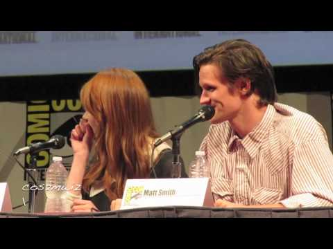DOCTOR WHO Matt Smith San Diego Comic Con 2011 4 of 5