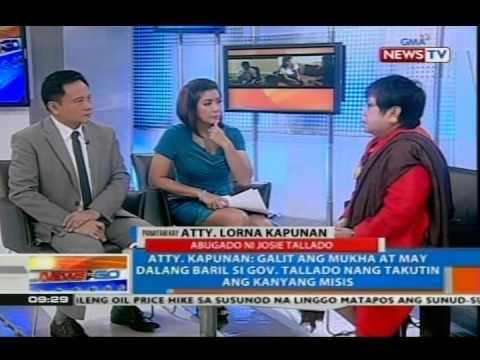 NTG: Panayam kay Atty. Lorna Kapunan, abugado ni Josie Tallado